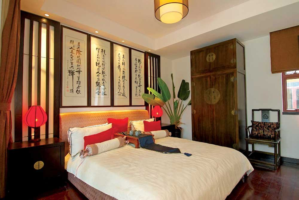 摩登中式风格卧室设计