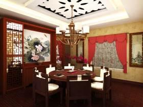 典雅新古典风格餐厅布置
