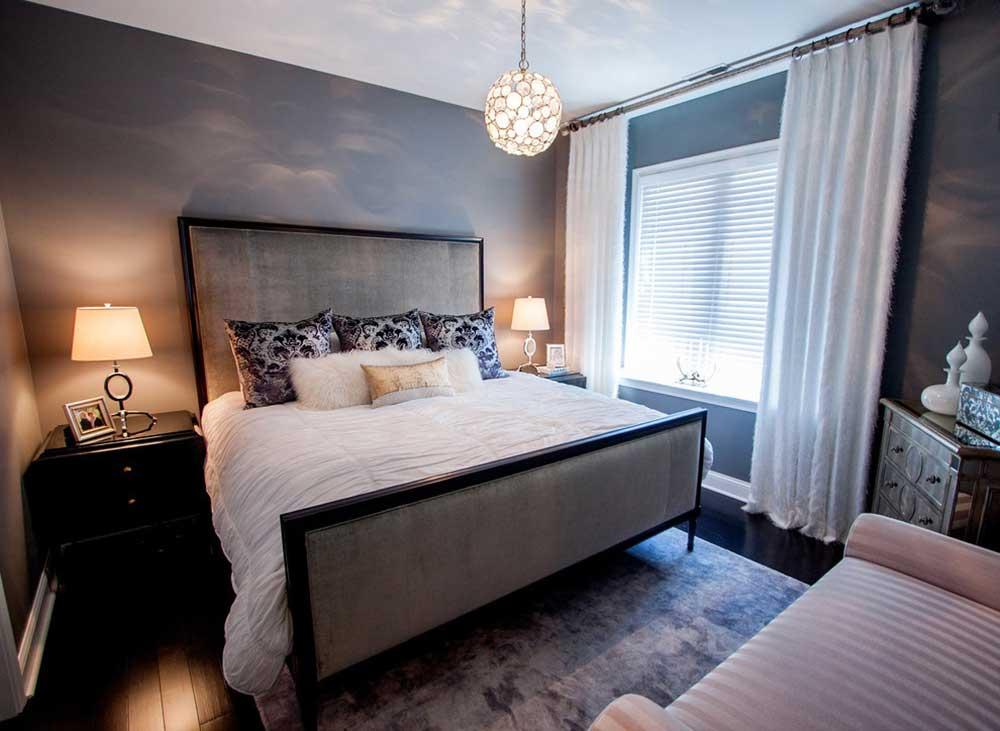 时尚欧式风格卧室设计装潢