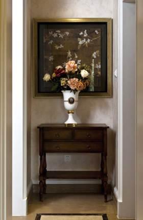 精致简欧风格背景墙布置欣赏