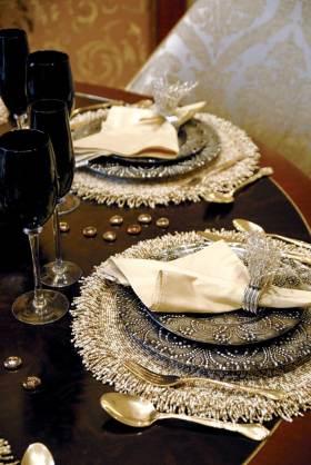 简欧时尚餐桌布置欣赏