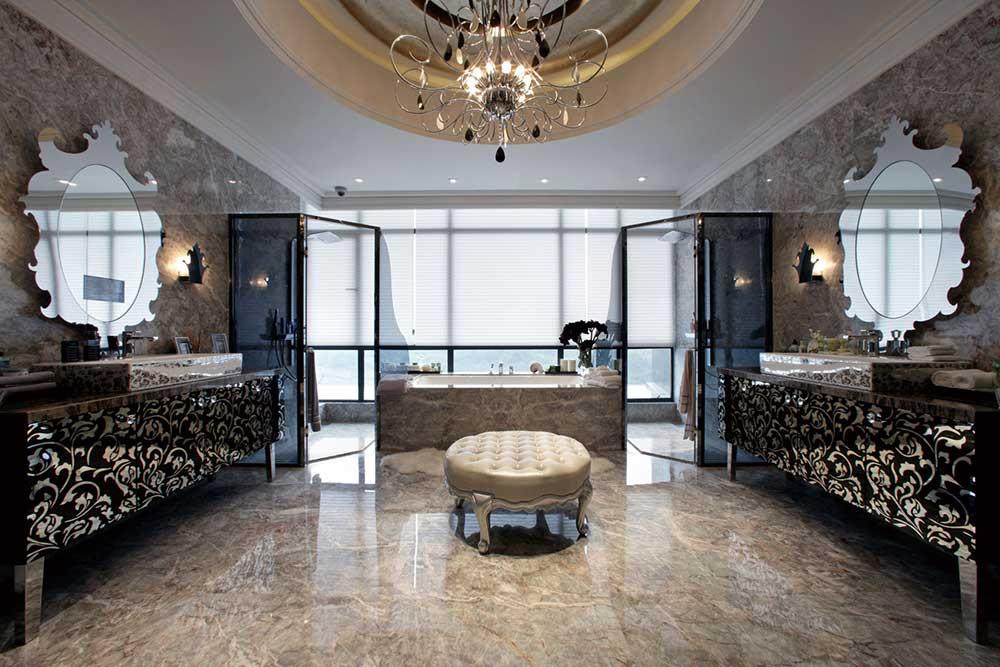 欧式风格奢华精致卫生间装修设计图
