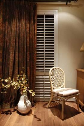 休闲混搭窗帘布置欣赏