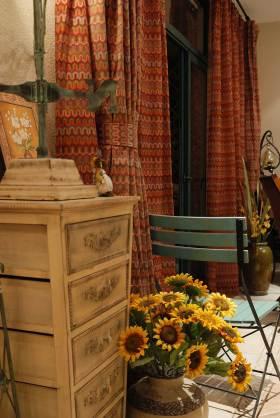 复古精美混搭室内一角装潢设计