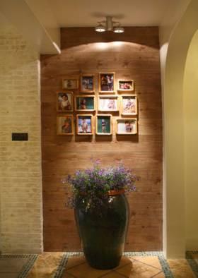 温馨质朴混搭照片墙装修案例