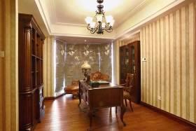 质朴简欧风格书房装修案例