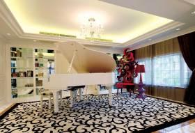 2016新古典典雅琴房布置欣赏