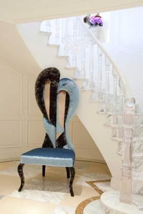简欧时尚雅致楼梯布置欣赏