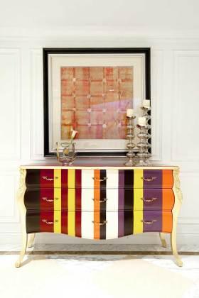 现代新古典质感收纳展示柜设计