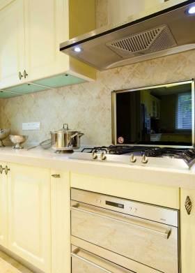 2016新古典简洁厨房布置