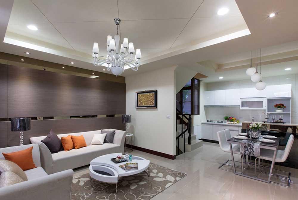 现代时尚客厅装修效果图图片
