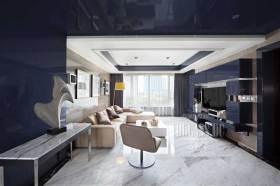现代时尚简洁客厅布置欣赏