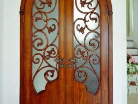 精美雕花新古典风格房门展示