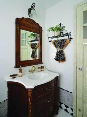 新古典主义精致浴室柜装潢设计