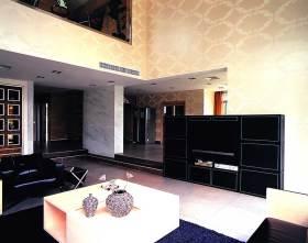沉稳个性现代风格电视背景墙设计