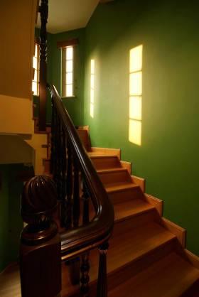 复古自然东南亚风格楼梯设计展示