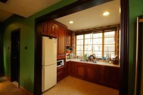 东南亚特色厨房设计整体效果