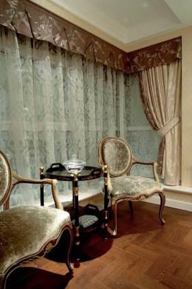 高贵雅致欧式窗帘设计欣赏