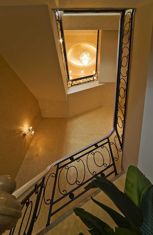 奢华精致欧式楼梯整体设计图片