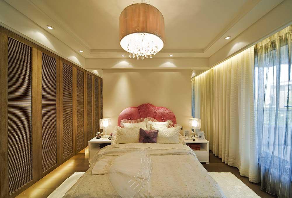 浪漫欧式卧室装饰布置