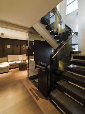 高端时尚现代风格楼梯装修案例
