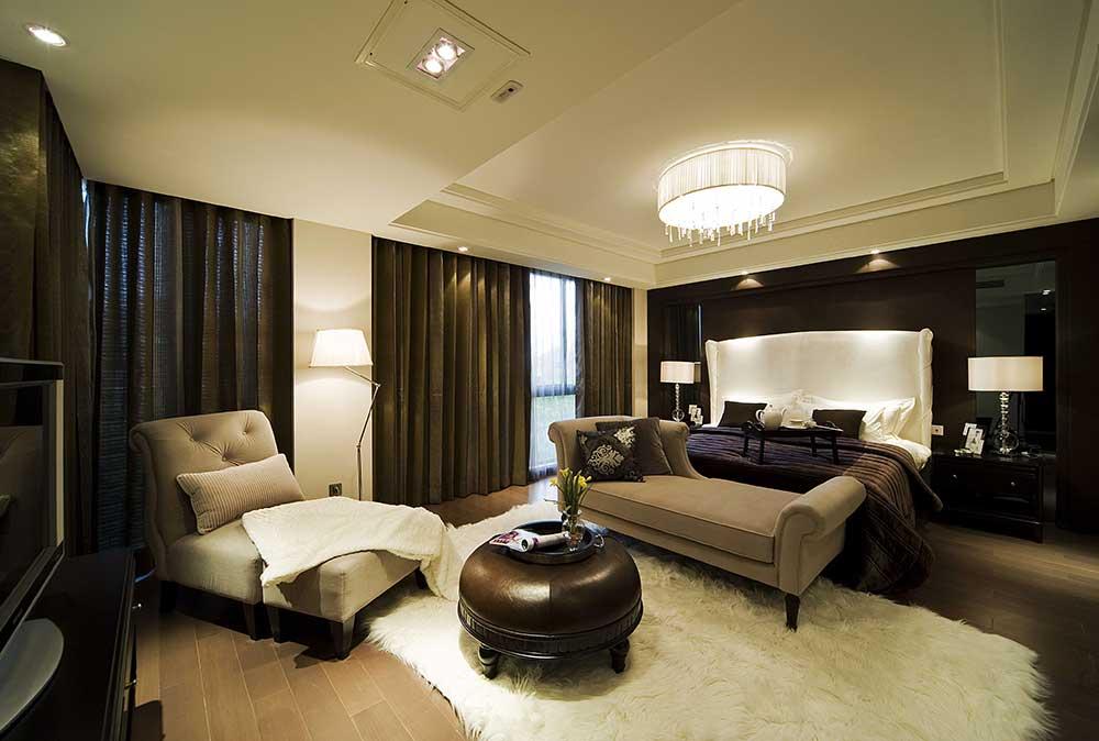 2016商务气质现代风格卧室整体装修案例
