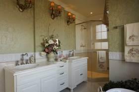 唯美欧式浴室柜设计效果展示