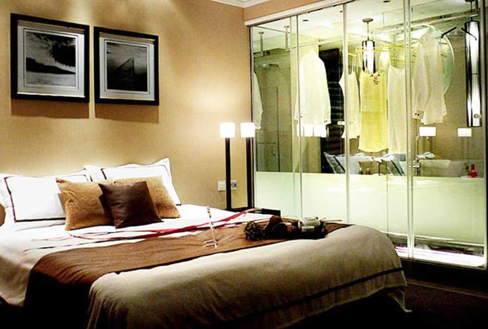 精品现代风格酒店式卧室装饰设计