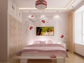 优雅现代风格新房卧室布置