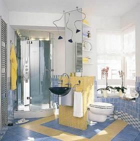 休闲创意简约风格卫生间装修布置