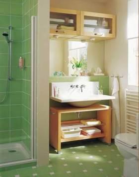 文艺清新简约风格浴室柜欣赏