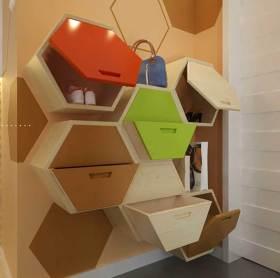 创意时尚现代风格鞋柜精致设计
