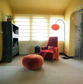 明亮混搭风休闲室装修效果图片