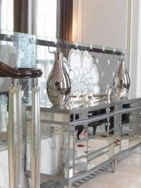 新古典时尚收纳柜装饰布置图片