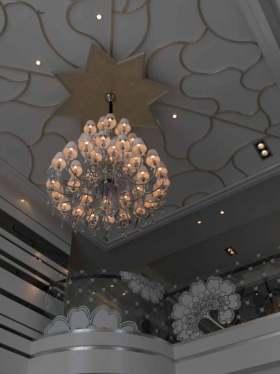 华美大气新古典主义吊顶设计欣赏