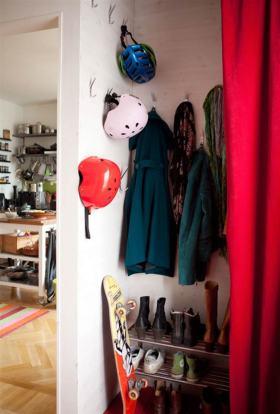 时尚个性简约风鞋柜展示