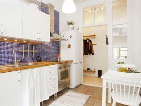 清新自然宜家风格厨房设计装修