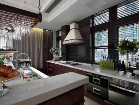 精致时尚大气美式风格厨房设计美图