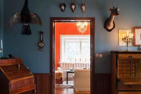 摩登美式混搭风格墙面设计
