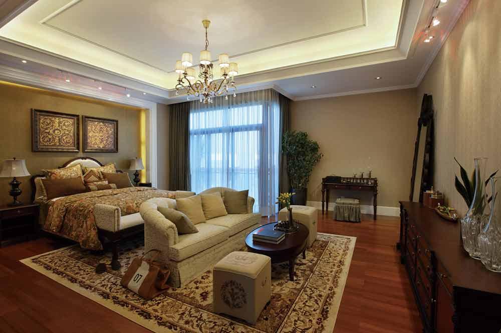 华丽时髦欧式风格卧室装潢案例