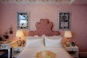 粉色简欧风格浪漫卧室装修