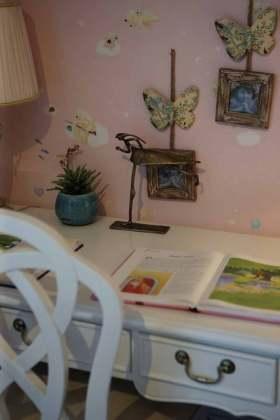 粉色浪漫田园风格装饰物展示