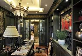 时尚华丽欧式风格精美书房装修布置