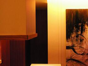 文艺现代厨房背景墙设计展示