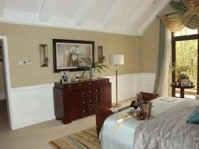 唯美欧式温馨卧室收纳柜设计欣赏