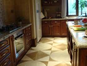 2016美式优雅厨房装潢