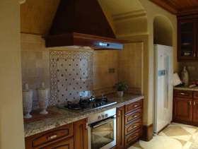 时设计感美式经典风格厨房展示
