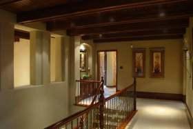 摩登设计艺术感美式楼梯设计美图
