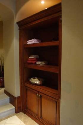 时尚原木风格美式收纳柜设计欣赏