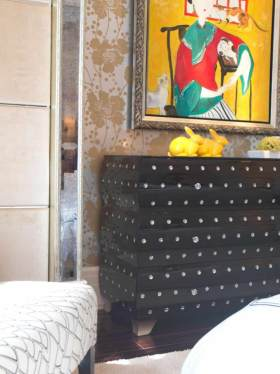 现代时尚背景墙设计欣赏